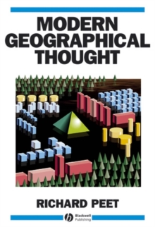Modern Geographic Thought, Paperback Book