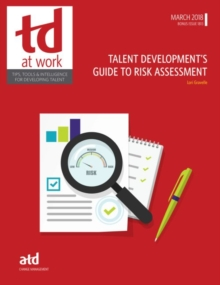 Talent Development's Guide to Risk Assessment, Paperback / softback Book