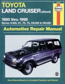 Toyota Land Cruiser Australian Automotive Repair Manual : 1980-1998, Paperback Book