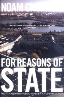 For Reasons Of State, Paperback / softback Book
