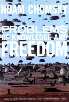 Problems Of Knowledge And Freedom, Paperback / softback Book