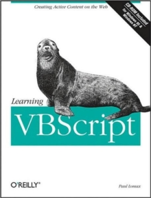 Learning VBScript, Mixed media product Book
