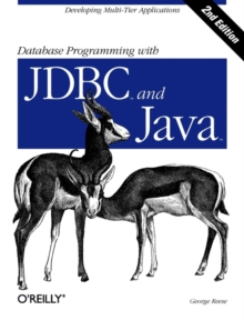 Database Programming with JDBC and Java, Paperback Book