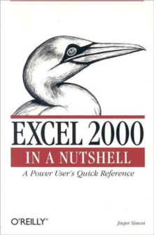 Excel 2000 in a Nutshell, Book Book