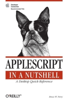 AppleScript in a Nutshell, Book Book