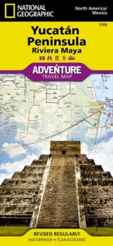 Northern Yucatn/maya Sites, Mexico : Travel Maps International Adventure Map, Sheet map, folded Book