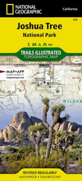 Joshua Tree National Park : Trails Illustrated National Parks, Sheet map, folded Book