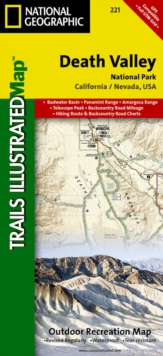 Death Valley National Park : Trails Illustrated National Parks, Sheet map, folded Book