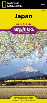Japan : Travel Maps International Adventure Map, Sheet map, folded Book