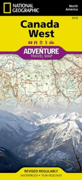 Canada West : Travel Maps International Adventure Map, Sheet map, folded Book