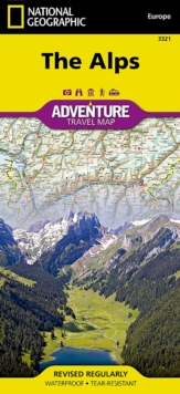 Alps : Travel Maps International Adventure Map, Sheet map, folded Book