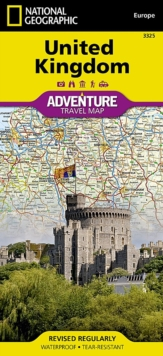United Kingdom : Travel Maps International Adventure Map, Sheet map, folded Book