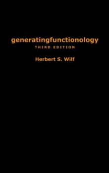 generatingfunctionology : Third Edition, Hardback Book