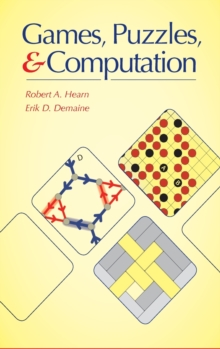Games, Puzzles, and Computation, Hardback Book