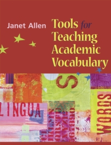 Tools for Teaching Academic Vocabulary, Spiral bound Book