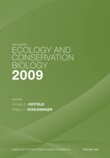 The Year in Ecology and Conservation Biology, 2009, Paperback Book