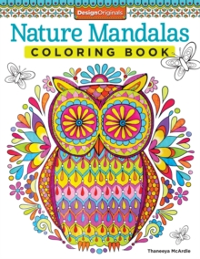 Nature Mandalas Coloring Book, Paperback / softback Book
