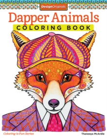 Dapper Animals Coloring Book, Paperback Book