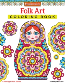 Folk Art Coloring Book, Paperback / softback Book