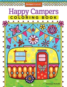 Happy Campers Coloring Book, Paperback / softback Book