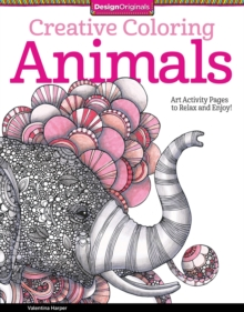 Creative Coloring Animals, Paperback Book