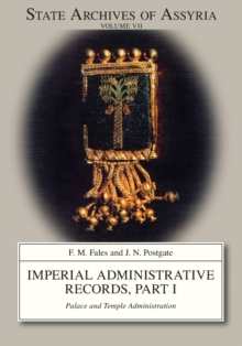 Imperial Administrative Records, part 1 : Palace and Temple Administration, Paperback / softback Book