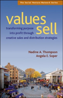 Values Sell, Paperback / softback Book