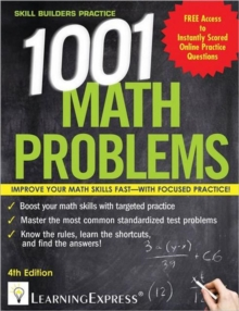 1,001 Math Problems, Paperback / softback Book