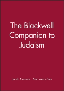 The Blackwell Companion to Judaism, Paperback / softback Book