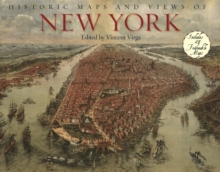 Historic Maps and Views of New York, Paperback Book