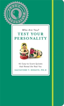 Who Are You? Test Your Personality, Hardback Book