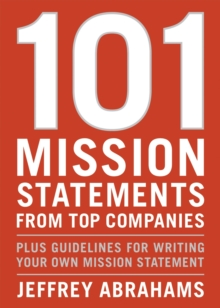 101 Mission Statements From Top Companies, Paperback / softback Book