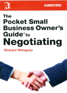 The Pocket Small Business Owner's Guide to Negotiating, Paperback Book