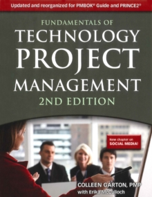 Fundamentals of Technology Project Management, Paperback / softback Book