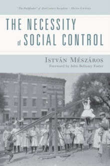The Necessity of Social Control, Paperback Book