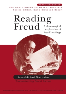 Reading Freud : A Chronological Exploration of Freud's Writings, Paperback / softback Book
