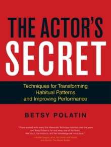 The Actor's Secret, Paperback / softback Book