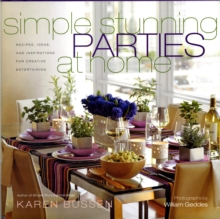 Simple Stunning Parties At Home, Hardback Book