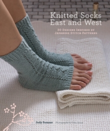 Knitted Socks East and West, Paperback / softback Book