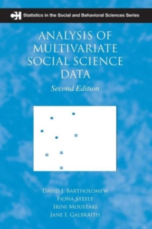 Analysis of Multivariate Social Science Data, Paperback Book