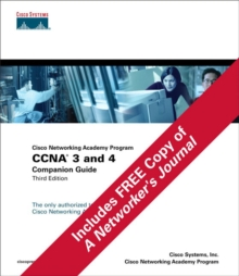 CCNA 3 and 4 Companion Guide and Journal Pack, Mixed media product Book
