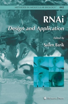 RNAi : Design and Application, Hardback Book