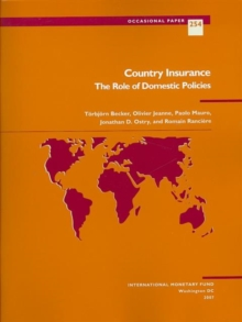 Country Insurance : The Role of Domestic Policies, Paperback / softback Book