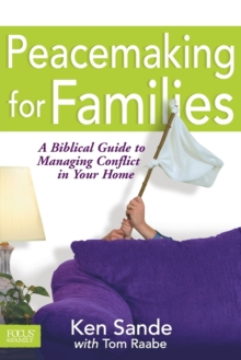 Peacemaking for Families, Paperback / softback Book