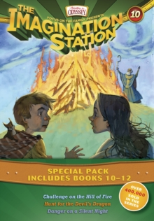 Imagination Station Books 3-Pack: Challenge on the Hill of Fire / Hunt for the Devil's Dragon / Danger on a Silent Night, Paperback Book