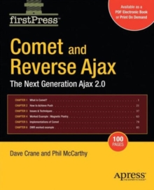 Comet and Reverse Ajax : The Next-Generation Ajax 2.0, Paperback / softback Book
