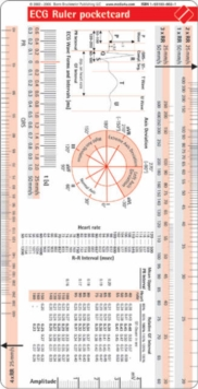 ECG Ruler Pocketcard, Cards Book