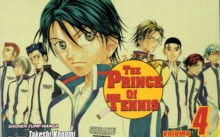 The Prince of Tennis, Vol. 4 : The Black Unit, Paperback / softback Book