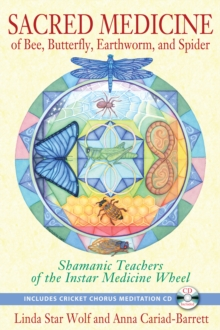 Sacred Medicine of Bee, Butterfly, Earthworm, and Spider : Shamanic Teachers of the Instar Medicine Wheel, Paperback / softback Book