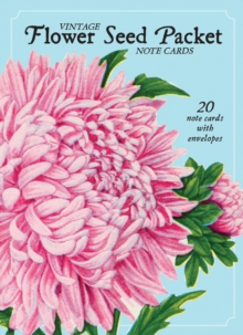 Vintage Flower Seed Packet Note Cards : 20 Note Cards with Envelopes, Cards Book